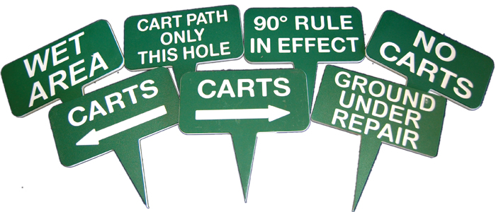 Flags And Laminated Signs
